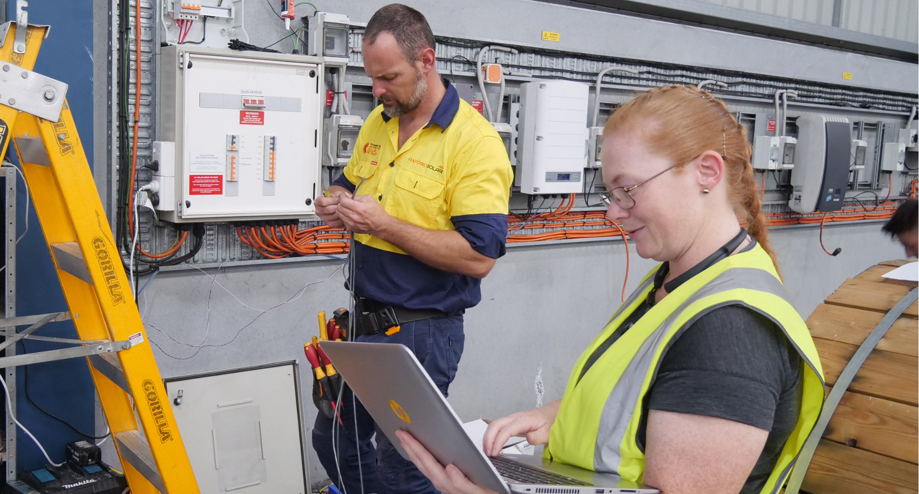 APsystems install at RFI distribution facility