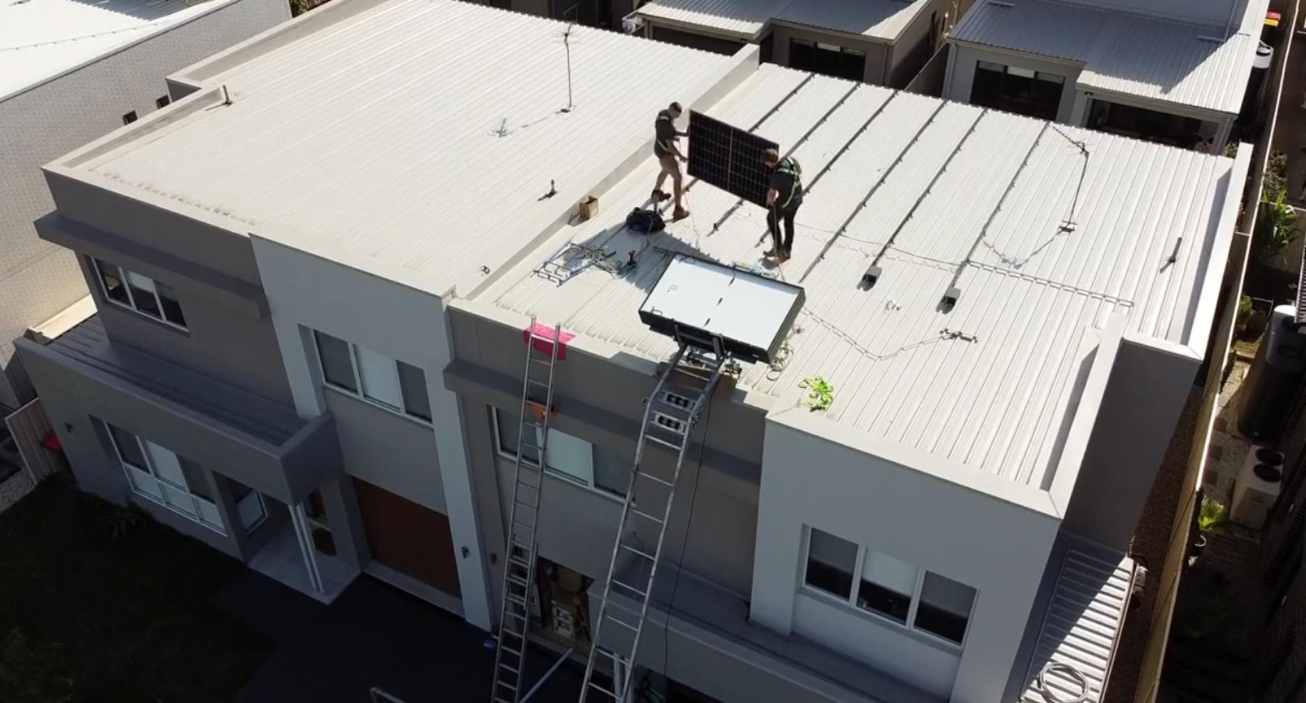 Skyline Solar installs the first Sunways inverter in Australia